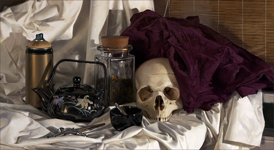 A Showcase of Still Life Digital Paintings