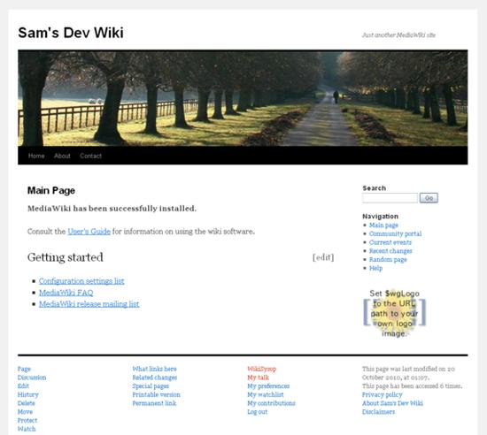 WordPress TwentyTen