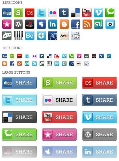 81 Pixel perfect Social Media Icons