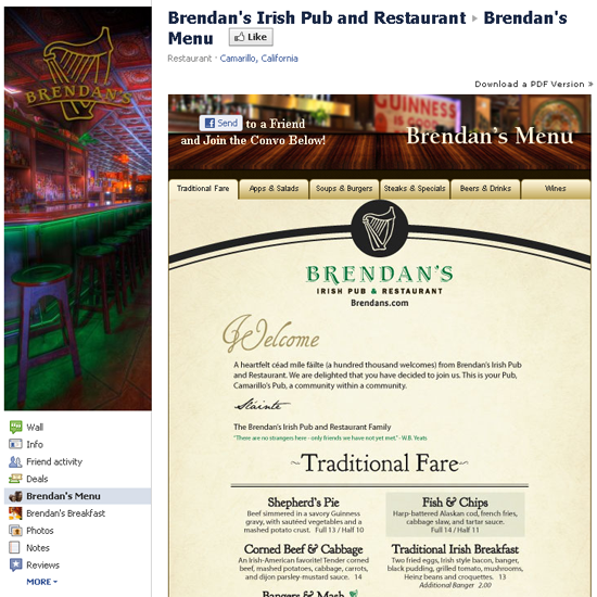 Brendan's Irish Pub and Restaurant