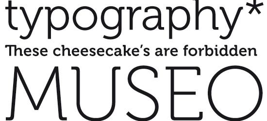 Museo Ultimate Free Font
