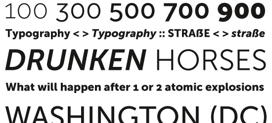 Museo Sans Ultimate Free Font