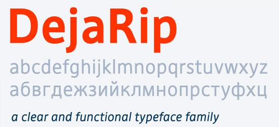 Deja Rip Ultimate Free Font