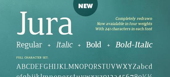 Jura Ultimate Free Font