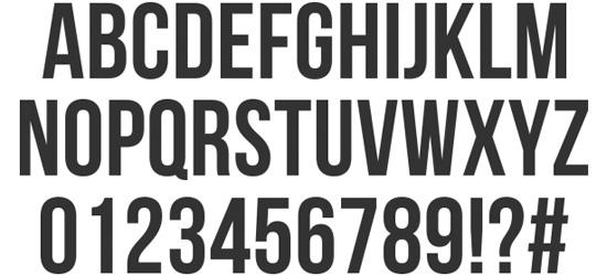 Bebas Neue Ultimate Free Font