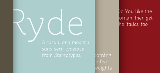 St Ryde Ultimate Free Font