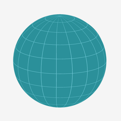 how to get circle grids in html