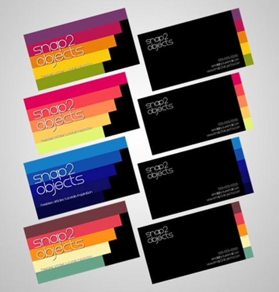 5 business card template packs - Template For Business Cards