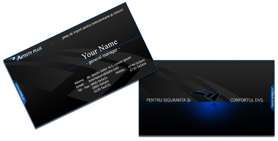 50 free photoshop business card templates the jotform blog black business card reheart Gallery
