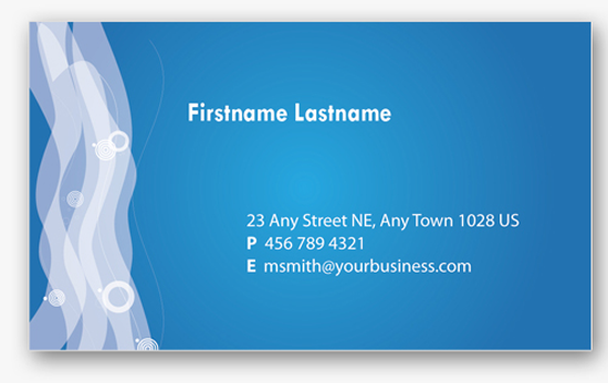 50 free photoshop business card templates the jotform blog 4 blue personal business cards templates wajeb Choice Image