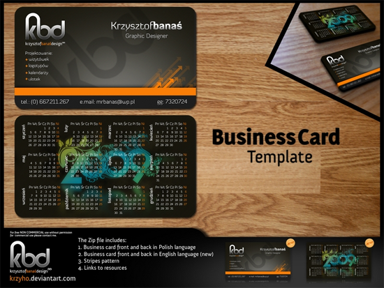 Free Photoshop Business Card Templates The JotForm Blog - Template for a business card