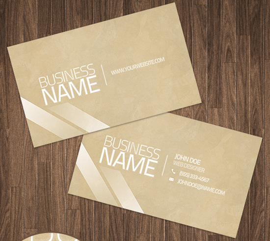 50 free photoshop business card templates the jotform blog clean business card psd reheart Gallery