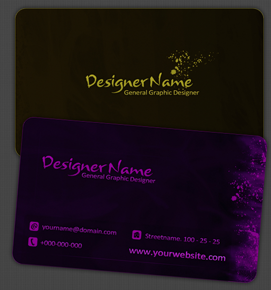 50 free photoshop business card templates the jotform blog ds free business card print template reheart Gallery
