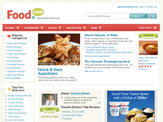25 delicious food and drink related websites food forumfinder Images