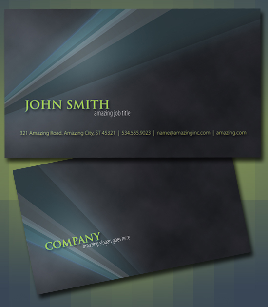50 free photoshop business card templates. Black Bedroom Furniture Sets. Home Design Ideas