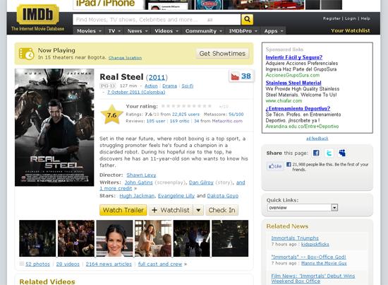 The Internet Movie Database