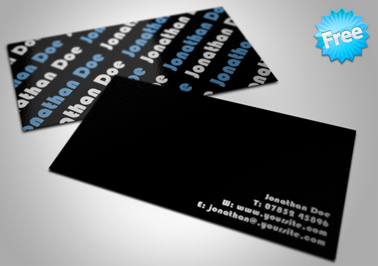 50 free photoshop business card templates the jotform blog free minimal business card fbccfo Image collections