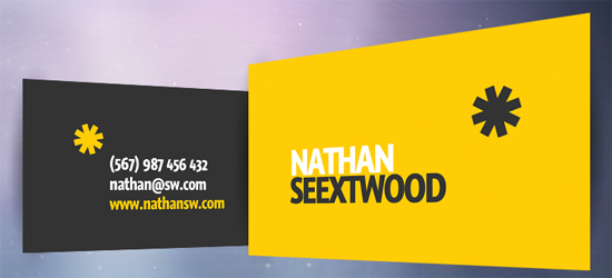 50 free photoshop business card templates the jotform blog seextwood business card fbccfo Image collections