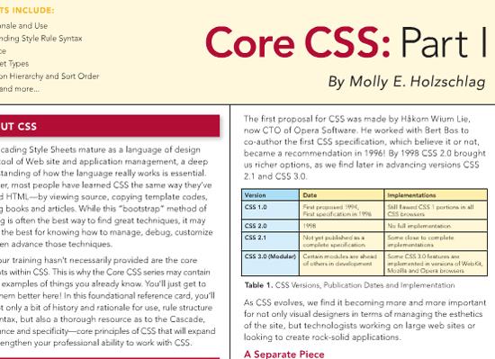 Core CSS