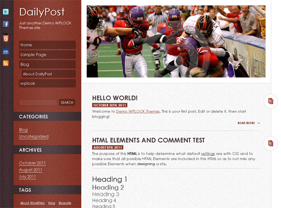 The Top 25 WordPress Themes Of 2011