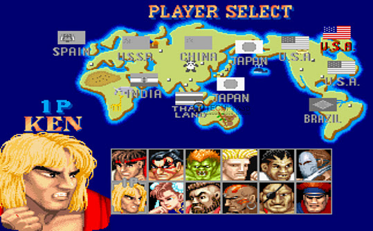 Gmail Street Fighter II Checker