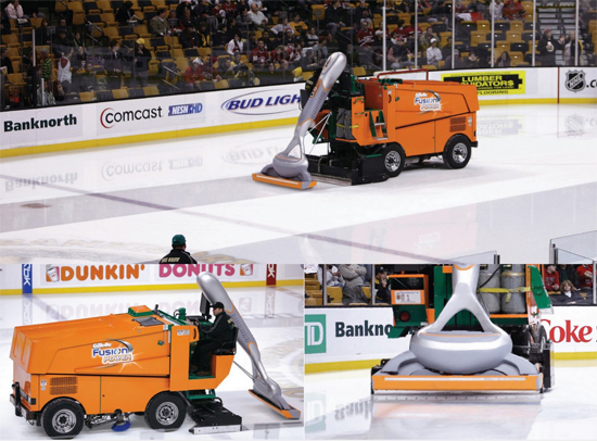 Gillette Fusion Power Zamboni