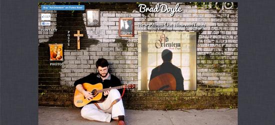 Brad Doyle website design