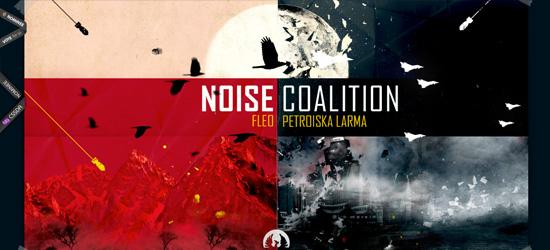 Noise Coalition website design