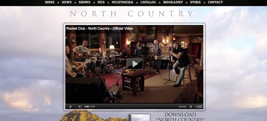 North Country website design