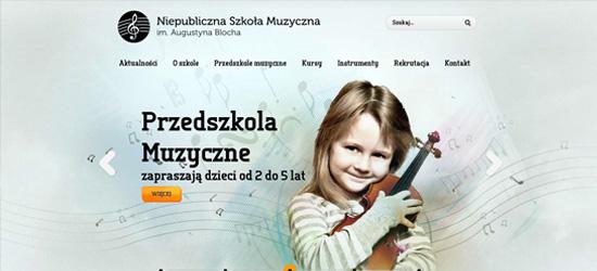 Bloch website design