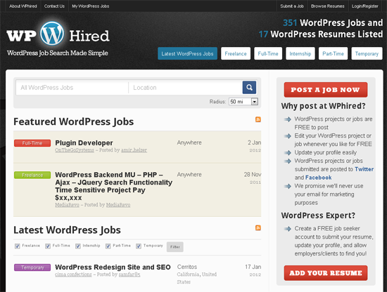 wordpress jobs multimedia developer jobs