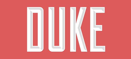Duke Free Font