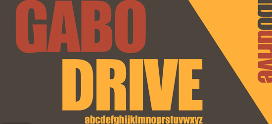 Gabo Free Font