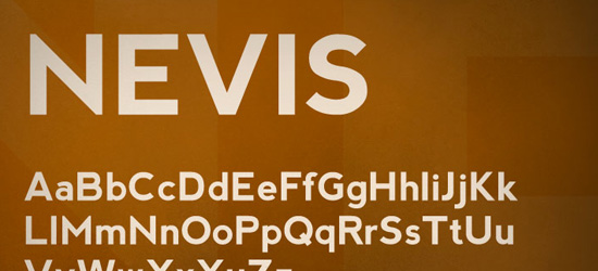 Nevis Free Font