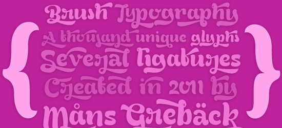 Bready Free Font