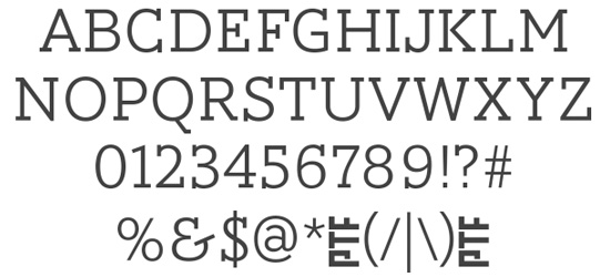 AW Conquerer Slab Free Font