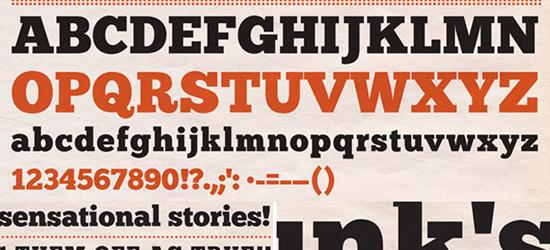 Chunk Five Free Font