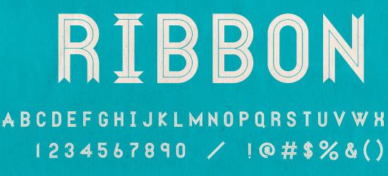 Ribbon Free Font