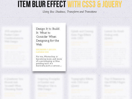 All About jQuery: Fresh and Useful jQuery Plugins and Tutorials
