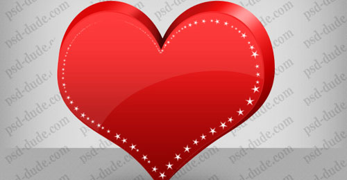 Make a Heart in Photoshop