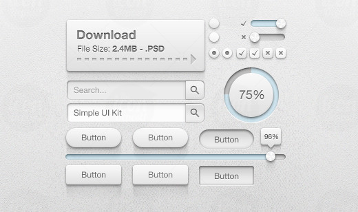Get Your Kits: Fresh Web and Mobile UI Kits, Wireframe Kits and PSD's