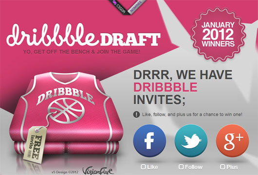 Exceptional Dribbble Invite Shots