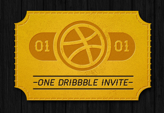 Dribbble invite shot by Alex Castro