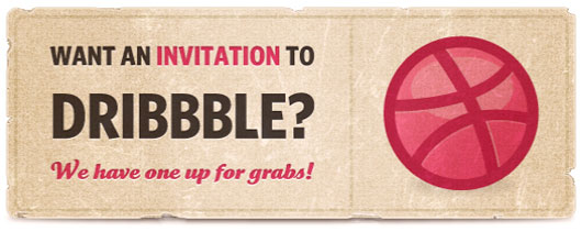 Dribbble invite shot by  Alexander Spliid