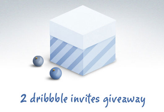 Dribbble invite shot by Clément Paquette