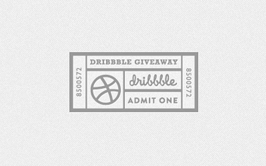 Dribbble invite shot by Daniel Klopper