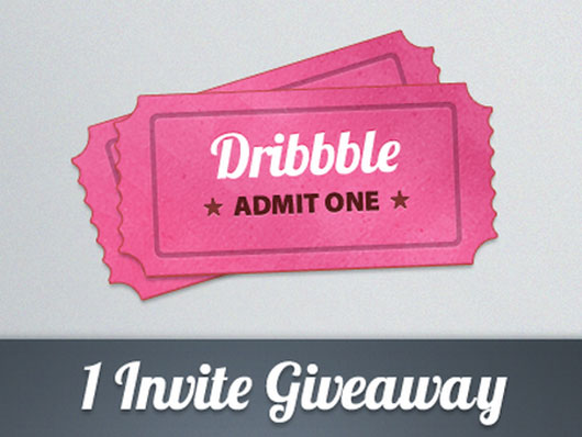 Dribbble invite shot by  Dave Finger