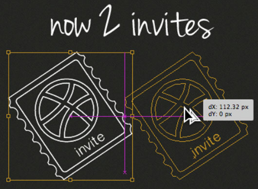 Dribbble invite shot by  Diego Monzon