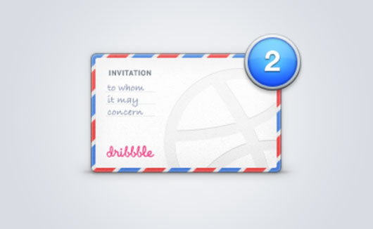 Dribbble invite shot by Gadzhi Kharkharov