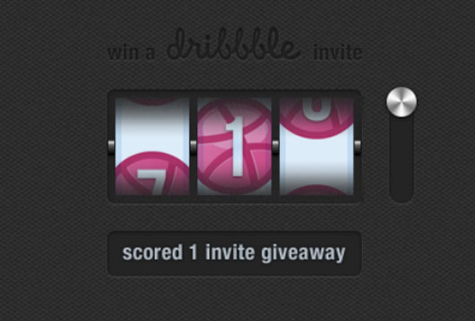 Dribbble invite shot by  Giorgio Pia